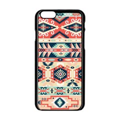 Aztec Pattern Copy Apple Iphone 6/6s Black Enamel Case by BangZart
