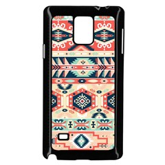 Aztec Pattern Copy Samsung Galaxy Note 4 Case (black) by BangZart
