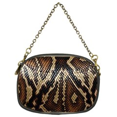 Snake Skin O Lay Chain Purses (one Side)  by BangZart