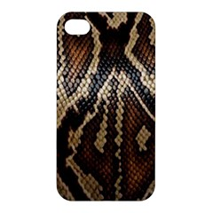 Snake Skin O Lay Apple Iphone 4/4s Premium Hardshell Case by BangZart