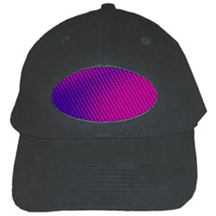 Purple Pink Dots Black Cap by BangZart