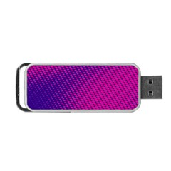 Purple Pink Dots Portable Usb Flash (one Side) by BangZart