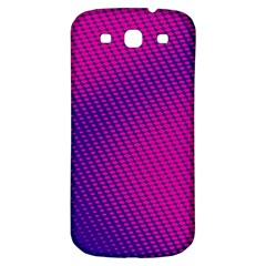 Purple Pink Dots Samsung Galaxy S3 S Iii Classic Hardshell Back Case by BangZart