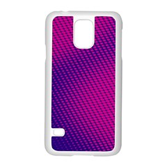 Purple Pink Dots Samsung Galaxy S5 Case (white) by BangZart