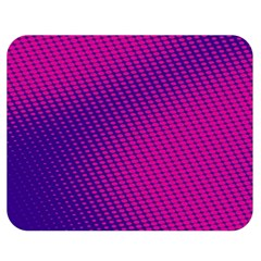 Purple Pink Dots Double Sided Flano Blanket (medium)  by BangZart