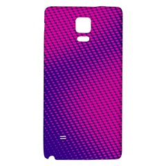 Purple Pink Dots Galaxy Note 4 Back Case by BangZart