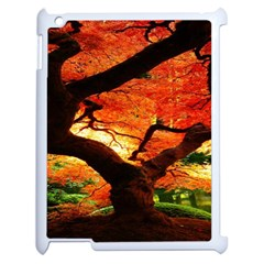 Maple Tree Nice Apple Ipad 2 Case (white) by BangZart