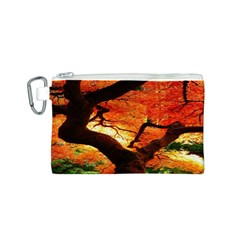 Maple Tree Nice Canvas Cosmetic Bag (s) by BangZart