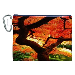 Maple Tree Nice Canvas Cosmetic Bag (xxl) by BangZart