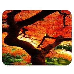 Maple Tree Nice Double Sided Flano Blanket (medium)  by BangZart
