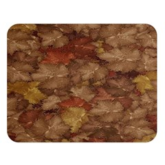 Brown Texture Double Sided Flano Blanket (large)  by BangZart