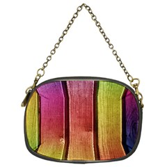Colourful Wood Painting Chain Purses (one Side)  by BangZart