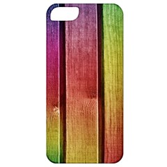 Colourful Wood Painting Apple Iphone 5 Classic Hardshell Case by BangZart