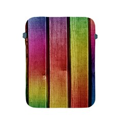 Colourful Wood Painting Apple Ipad 2/3/4 Protective Soft Cases by BangZart