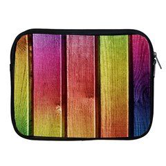 Colourful Wood Painting Apple Ipad 2/3/4 Zipper Cases by BangZart