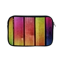 Colourful Wood Painting Apple Ipad Mini Zipper Cases by BangZart
