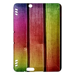 Colourful Wood Painting Kindle Fire Hdx Hardshell Case