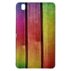 Colourful Wood Painting Samsung Galaxy Tab Pro 8 4 Hardshell Case by BangZart