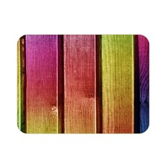 Colourful Wood Painting Double Sided Flano Blanket (mini)  by BangZart
