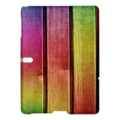 Colourful Wood Painting Samsung Galaxy Tab S (10 5 ) Hardshell Case  by BangZart
