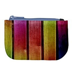 Colourful Wood Painting Large Coin Purse by BangZart