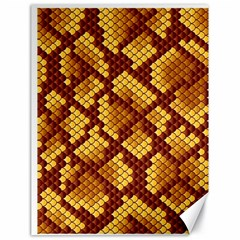 Snake Skin Pattern Vector Canvas 18  X 24   by BangZart