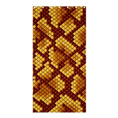Snake Skin Pattern Vector Shower Curtain 36  X 72  (stall)  by BangZart