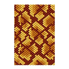 Snake Skin Pattern Vector Shower Curtain 48  X 72  (small)  by BangZart