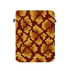 Snake Skin Pattern Vector Apple Ipad 2/3/4 Protective Soft Cases by BangZart
