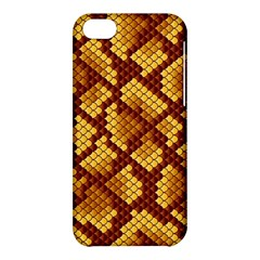 Snake Skin Pattern Vector Apple Iphone 5c Hardshell Case by BangZart