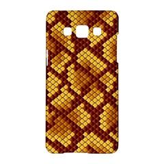 Snake Skin Pattern Vector Samsung Galaxy A5 Hardshell Case  by BangZart