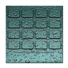 Water Drop Tile Coasters by BangZart