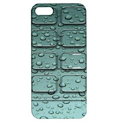 Water Drop Apple Iphone 5 Hardshell Case With Stand by BangZart