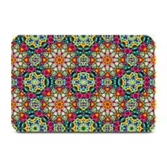 Jewel Tiles Kaleidoscope Plate Mats by WolfepawFractals