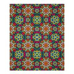 Jewel Tiles Kaleidoscope Shower Curtain 60  X 72  (medium)  by WolfepawFractals