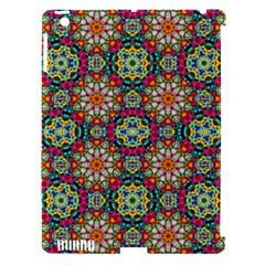 Jewel Tiles Kaleidoscope Apple Ipad 3/4 Hardshell Case (compatible With Smart Cover) by WolfepawFractals