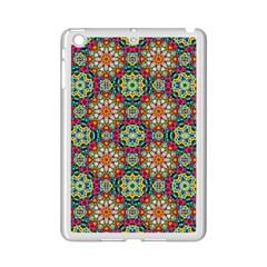Jewel Tiles Kaleidoscope Ipad Mini 2 Enamel Coated Cases by WolfepawFractals