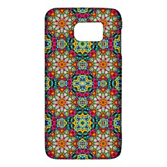 Jewel Tiles Kaleidoscope Galaxy S6 by WolfepawFractals
