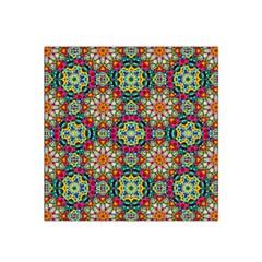 Jewel Tiles Kaleidoscope Satin Bandana Scarf by WolfepawFractals