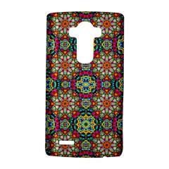 Jewel Tiles Kaleidoscope Lg G4 Hardshell Case by WolfepawFractals
