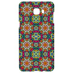 Jewel Tiles Kaleidoscope Samsung C9 Pro Hardshell Case  by WolfepawFractals