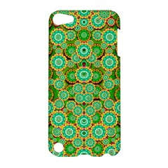 Flowers In Mind In Happy Soft Summer Time Apple Ipod Touch 5 Hardshell Case by pepitasart