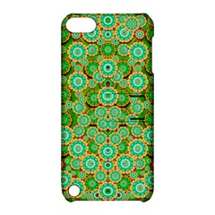 Flowers In Mind In Happy Soft Summer Time Apple Ipod Touch 5 Hardshell Case With Stand by pepitasart