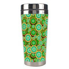 Flowers In Mind In Happy Soft Summer Time Stainless Steel Travel Tumblers by pepitasart