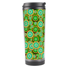 Flowers In Mind In Happy Soft Summer Time Travel Tumbler by pepitasart