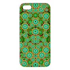 Flowers In Mind In Happy Soft Summer Time Iphone 5s/ Se Premium Hardshell Case by pepitasart