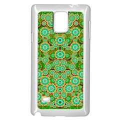Flowers In Mind In Happy Soft Summer Time Samsung Galaxy Note 4 Case (white) by pepitasart