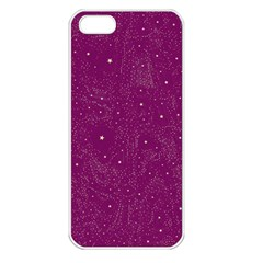 Awesome Allover Stars 01e Apple Iphone 5 Seamless Case (white) by MoreColorsinLife