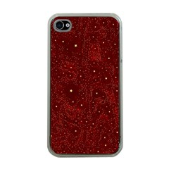 Awesome Allover Stars 01a Apple Iphone 4 Case (clear) by MoreColorsinLife