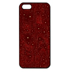 Awesome Allover Stars 01a Apple Iphone 5 Seamless Case (black) by MoreColorsinLife
